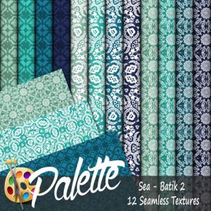 Palette - Sea Batik 2 Ad