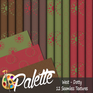 Palette - West Dotty Ad