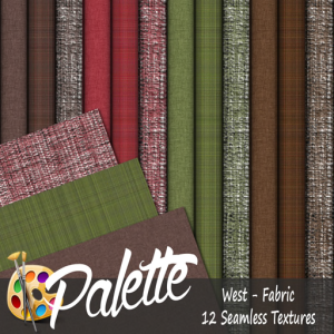 Palette - West Fabric Ad