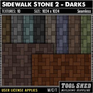 Tool Shed - Sidewalk Stone 2 - Darks Ad