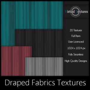 [VT] Draped Fabrics Textures