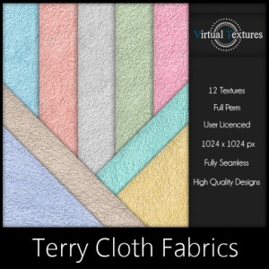 [VT] Terry Cloth Fabrics