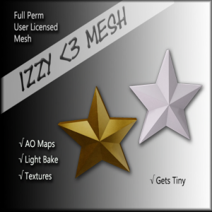 izzy-_3-mesh-just-a-star