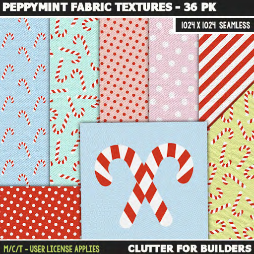 clutter-peppymint-fabric-textures-36pk-ad