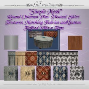 gfc-round-mesh-ottoman-plus-texture-set-ad