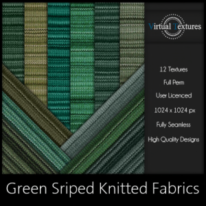vt-green-striped-knitted-fabrics