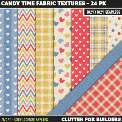 clutter-candy-time-fabric-textures-24pk