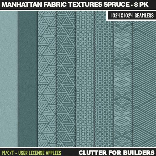 clutter-manhattan-fabric-textures-spruce-8pk-ad