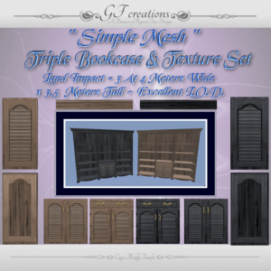 gfc-simple-mesh-triple-bookcase-and-texture-set-ad