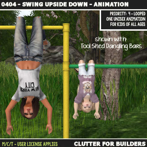 Clutter - 0404 - Swing Upside Down - Animation - ad