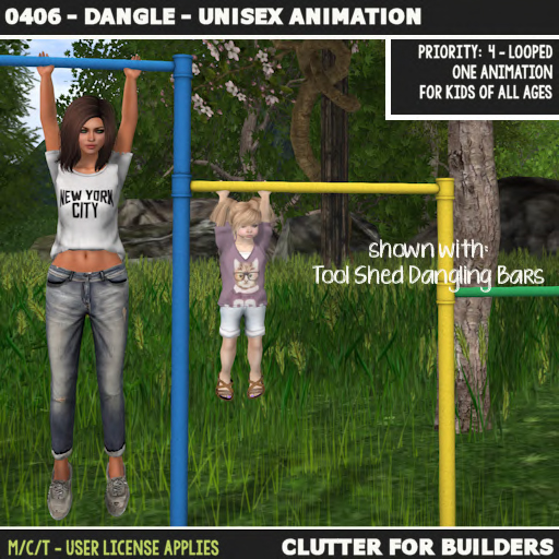 Clutter - 0406 - Dangle - Unisex Animation - ad