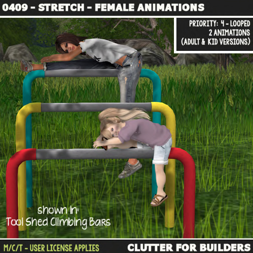 Clutter - 0409 - Stretch - Female Animations - ad