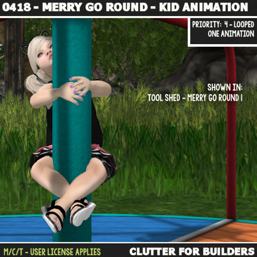 Clutter - 0418 - Merry Go Round - Kid Animation - ad