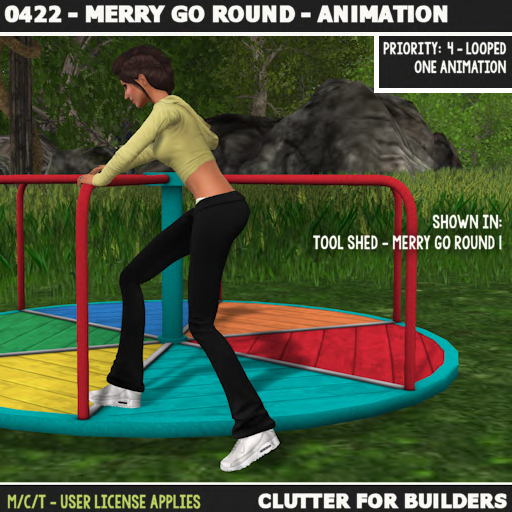 Clutter - 0422 - Merry Go Round - Animation - ad