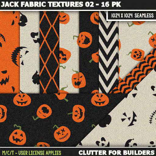 Clutter - Jack Fabric Textures 02 - 16PK - ad