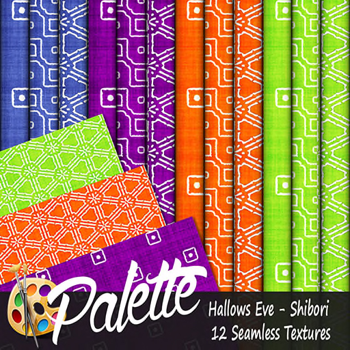 Palette - Hallows Eve Shibori Ad