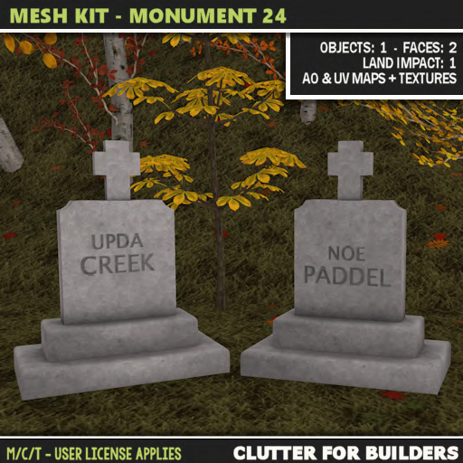 Clutter - Mesh Kit - Monument 24 ad