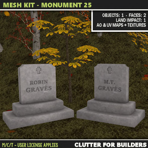 Clutter - Mesh Kit - Monument 25 - ad