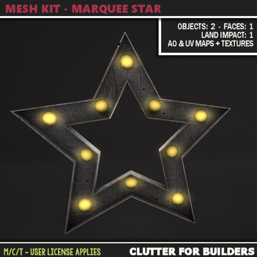 Clutter - Mesh Kit - Marquee Star - ad