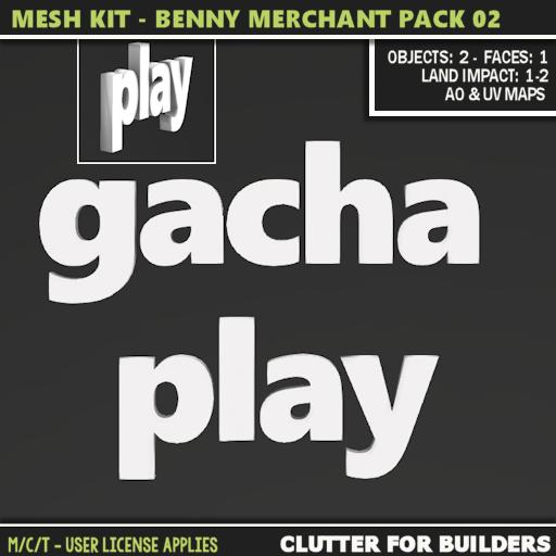Clutter - Mesh Kit - Benny Merchant Pack 02 - ad