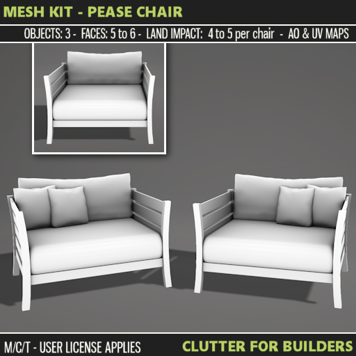 Clutter - Mesh Kit - Pease Chair - ad