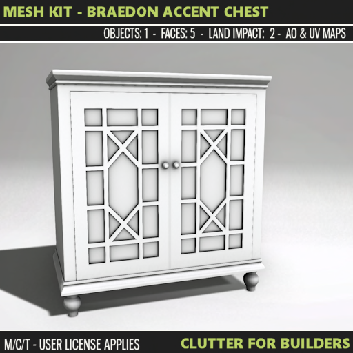 Clutter - Mesh Kit - Braedon Accent Chest - ad